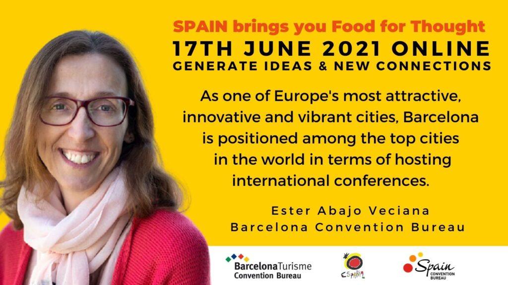 Ester Abajo Veciana Association Meetings Manager Barcelona Convention Bureau planner