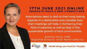 Ksenija Polla ICCA Regional Director North America associations eventprofs