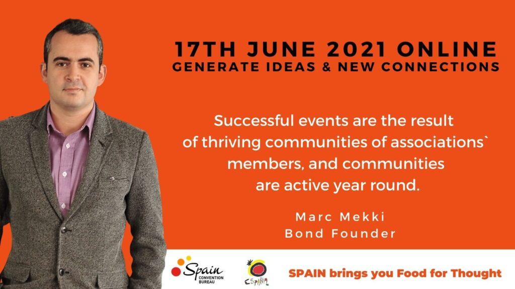 Marc Mekki Bond barcelona roadmap2030 virtual community associations