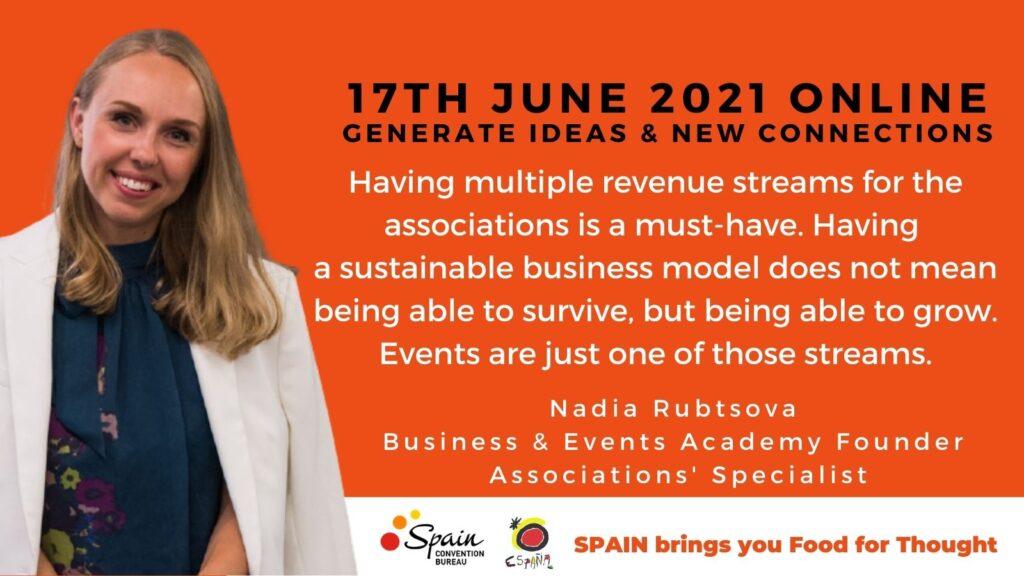 Nadia Rubtsova Business Events Academy associations expert keynote speaker
