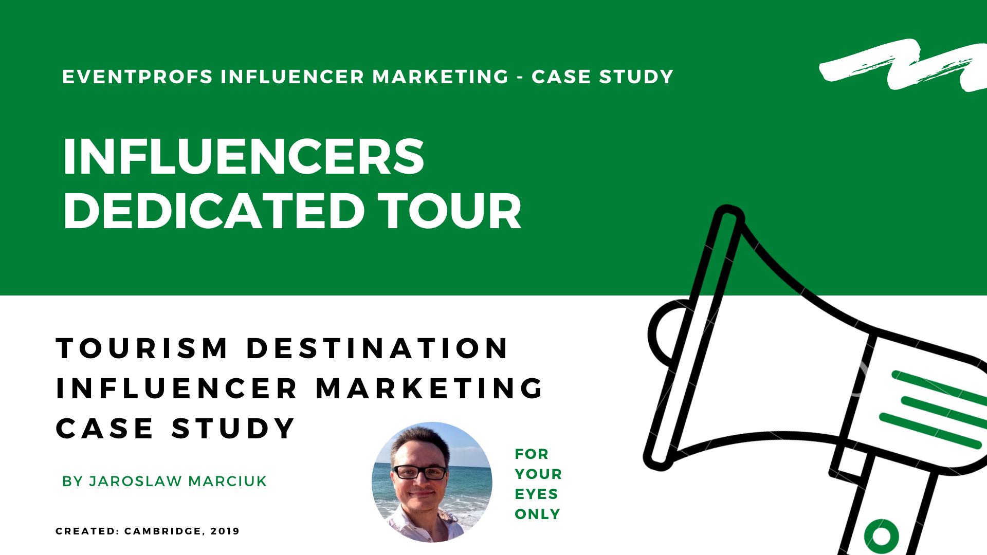 inflluencer marketing campaign destination case study tourism board