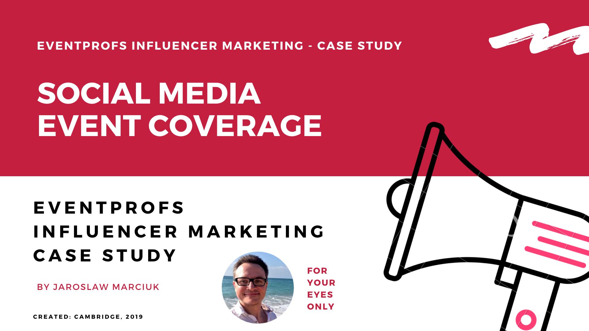 MICE influencer marketing case study