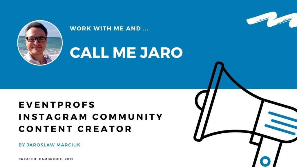 Jaroslaw Marciuk influencer marketing experience collaboration proposal