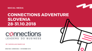 Connections Adventure Slovenia Social Media Event Coverage