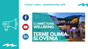 Social Media report Connections Wellbeing Slovenia