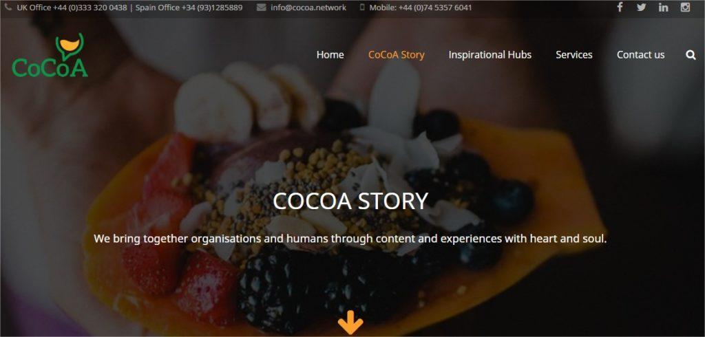 Website design for Events Eventprofs