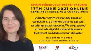 Raquel Hernandez Alicante convention bureau Spain