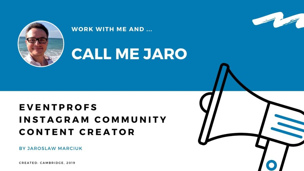 Jaroslaw Marciuk influencer marketing experience collaboration proposal