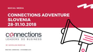 Connections Adventure Slovenia Social Media Event Coverage